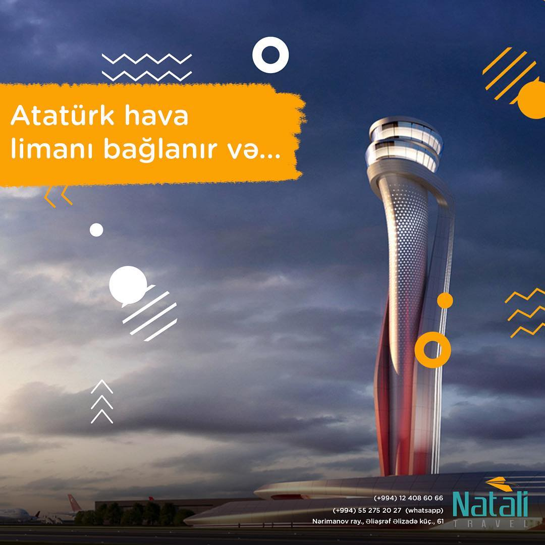 Ataturk Airport connects