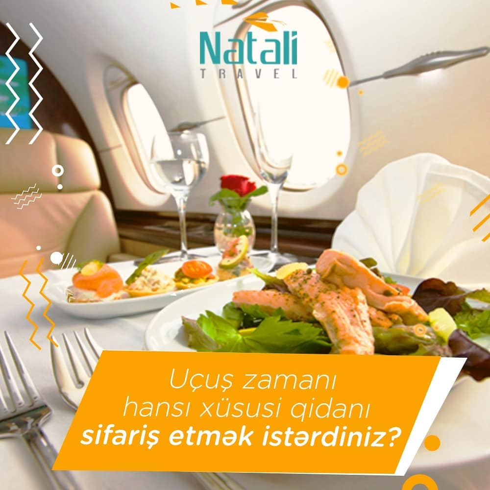 What kind of special food would you like to order during the flight?