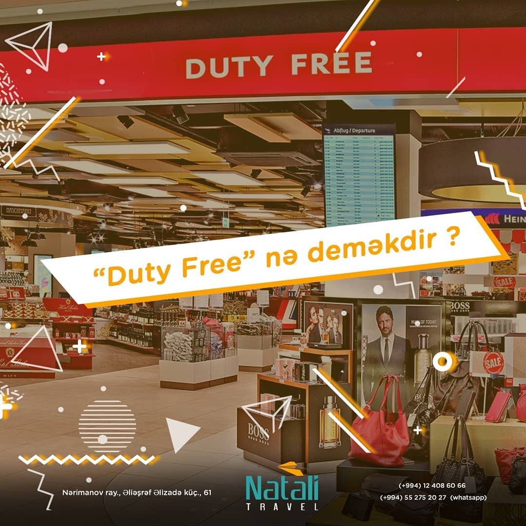What does Duty Free mean?